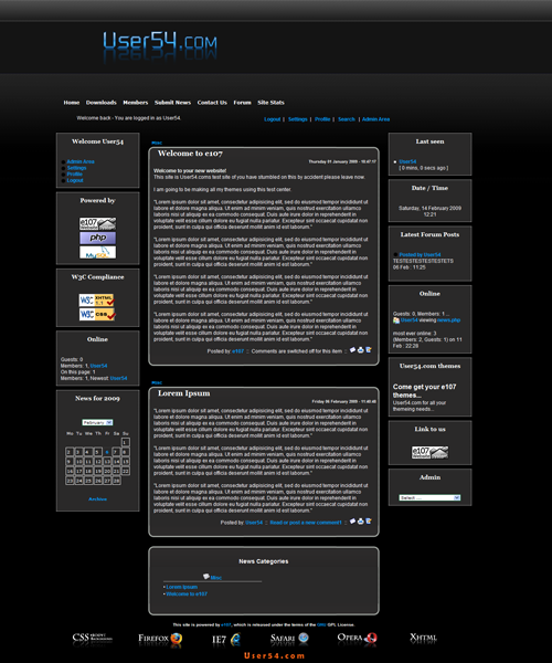 User54.com Design