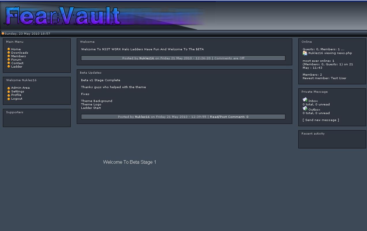 Fear Vault Clean